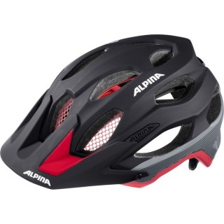 přilba ALPINA Carapax 2018 black/red
