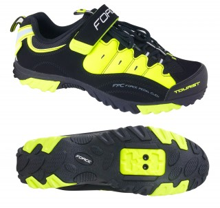 Tretry FORCE Tourist fluo
