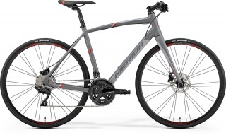 MERIDA SPEEDER 400 Matt Grey/Red 2019