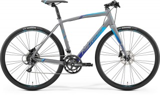 MERIDA SPEEDER 200 Matt Grey/Blue 2019