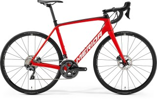 MERIDA SCULTURA DISC 6000 Matt Red/White 2019