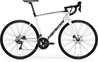 MERIDA SCULTURA DISC 5000 Pearl White/Black 2019