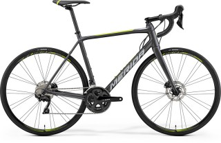 MERIDA SCULTURA DISC 400 Matt Black Silver/Green 2019