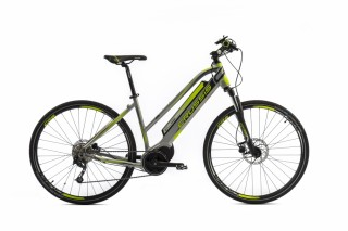 CRUSSIS E-CROSS LADY 7.4-S Grey/Green 2019