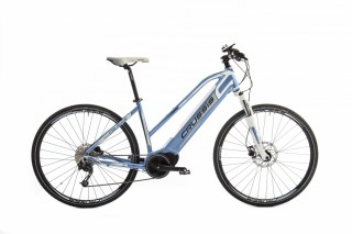 CRUSSIS E-CROSS LADY 9.4 Blue/White 2019