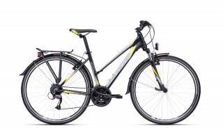 CTM Bora 1.0 Trek 2020 matt black/yellow