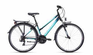 CTM Jessie Trek 2020 matt black/light turquoise