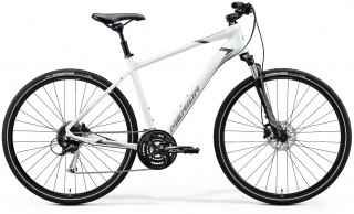 MERIDA CROSSWAY 100 2020 matt white/grey