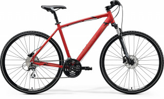 MERIDA CROSSWAY 20-D 2020 matt x'mas red/black