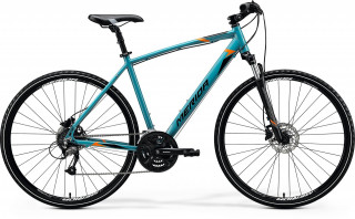 MERIDA CROSSWAY 40-D 2020 glossy teal/orange