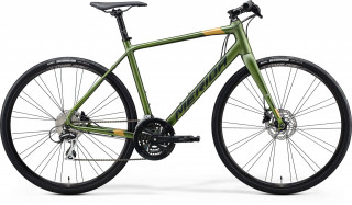 MERIDA SPEEDER 100 2020 matt fog green/gold